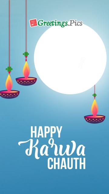 Karwa Chauth Greeting Pic