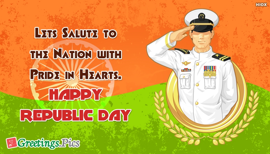 Lets Salute To The Nation With Pride In Hearts