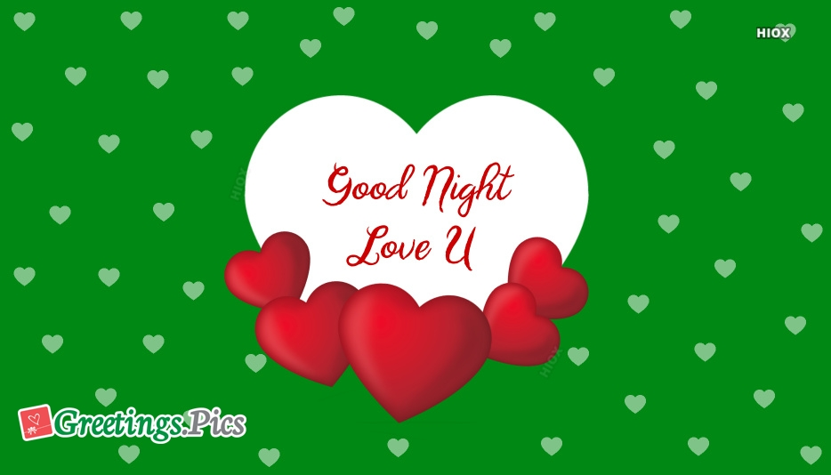 Love U Good Night
