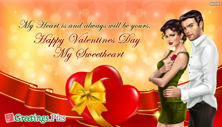 I Love You Greetings For Boyfriend