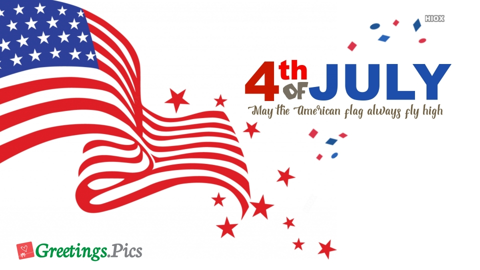 American Flag Greetings, Images, Cards