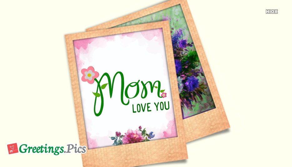Mom Greeting Card