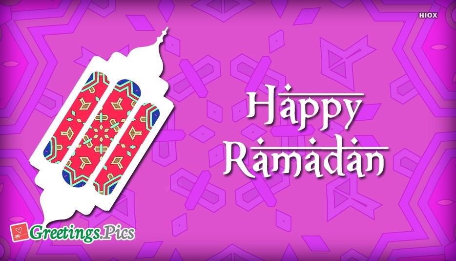 Happy Ramzan Greetings