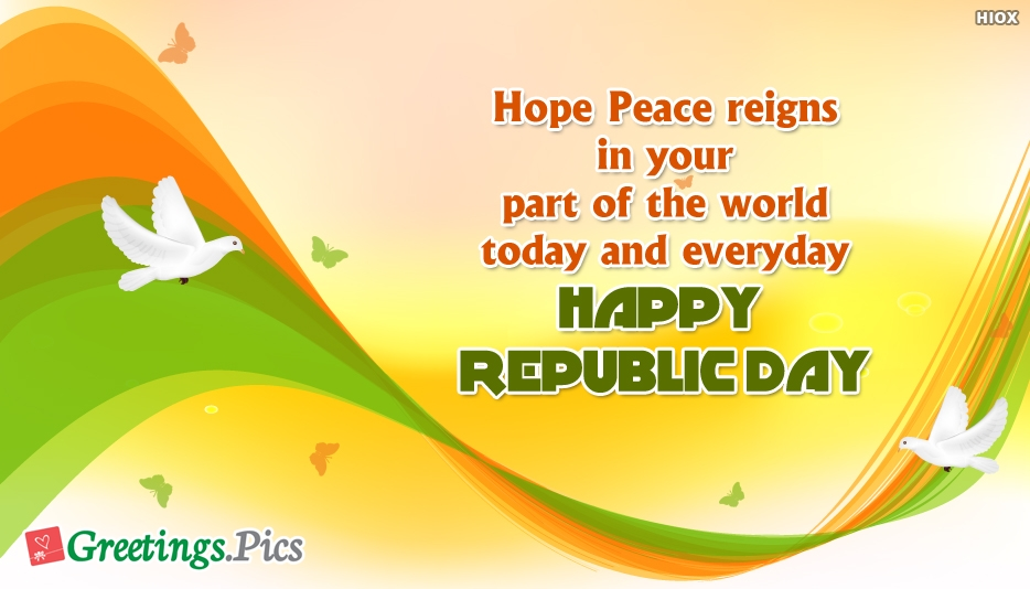 Happy Republic Day Patriotic Wishes To All