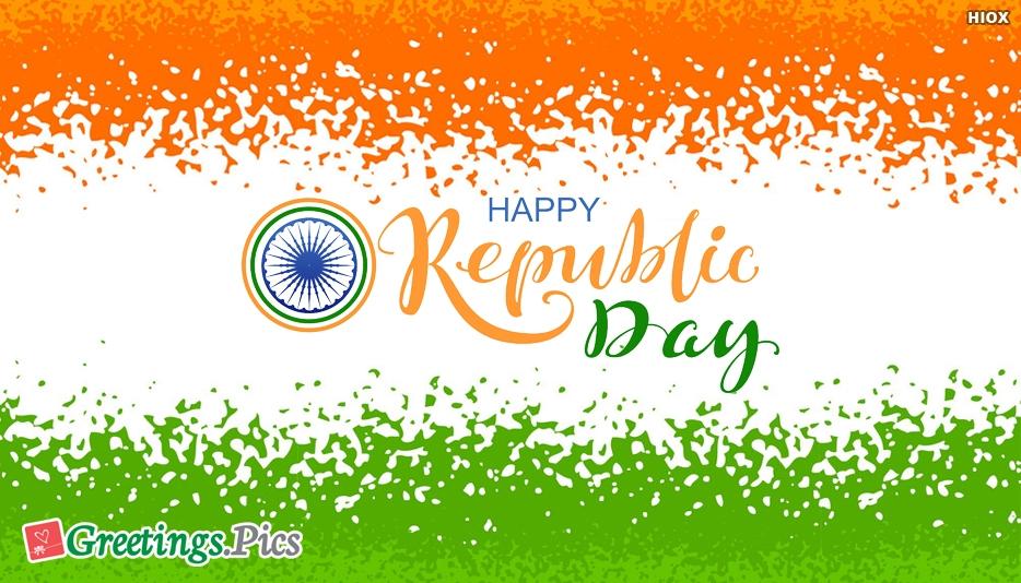 Happy Republic Day Unique Wishes