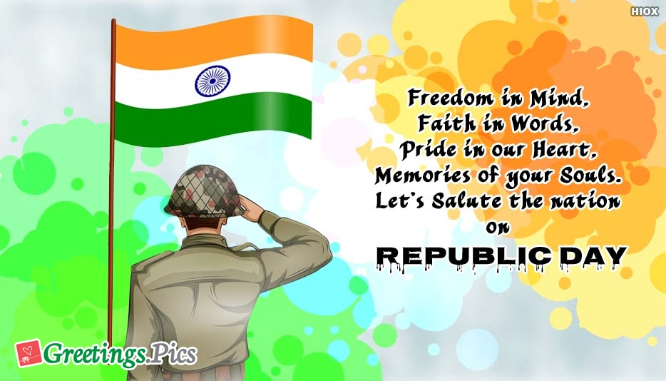 Republic Day 2020 Greetings, eCards, Images