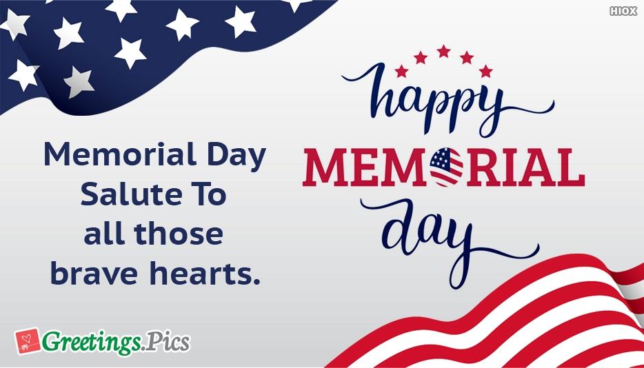 Memorial Day Greetings, eCards, Images
