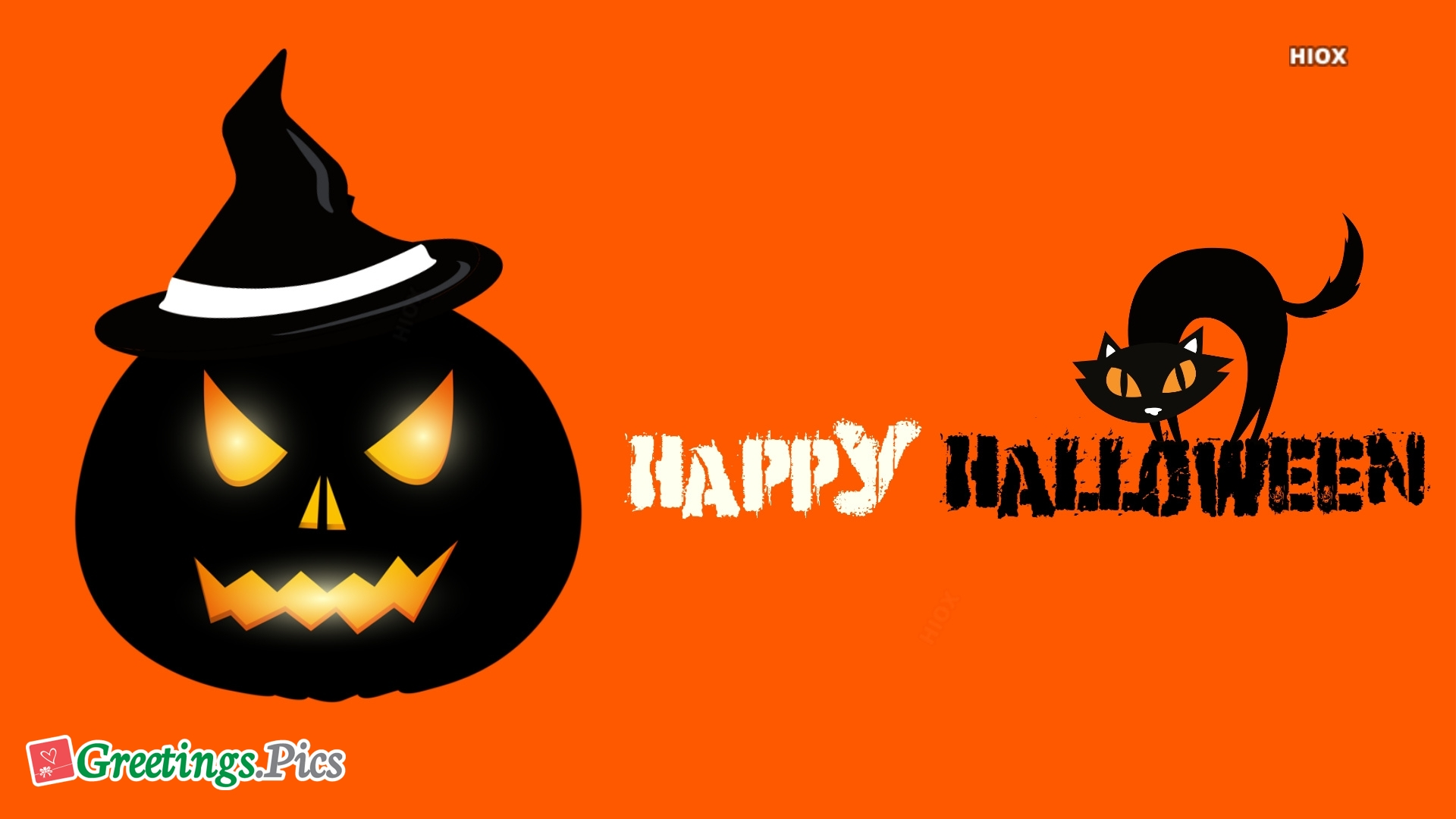 Scary Happy Halloween Wallpaper