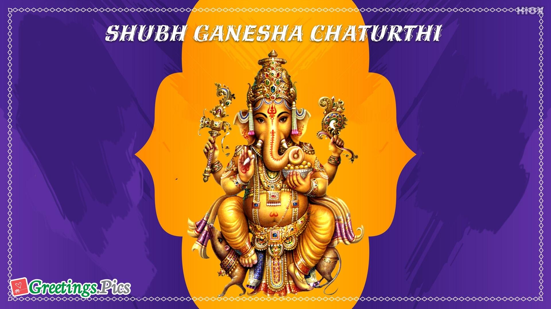 Shubh Ganesha Chaturthi Whatsapp Status