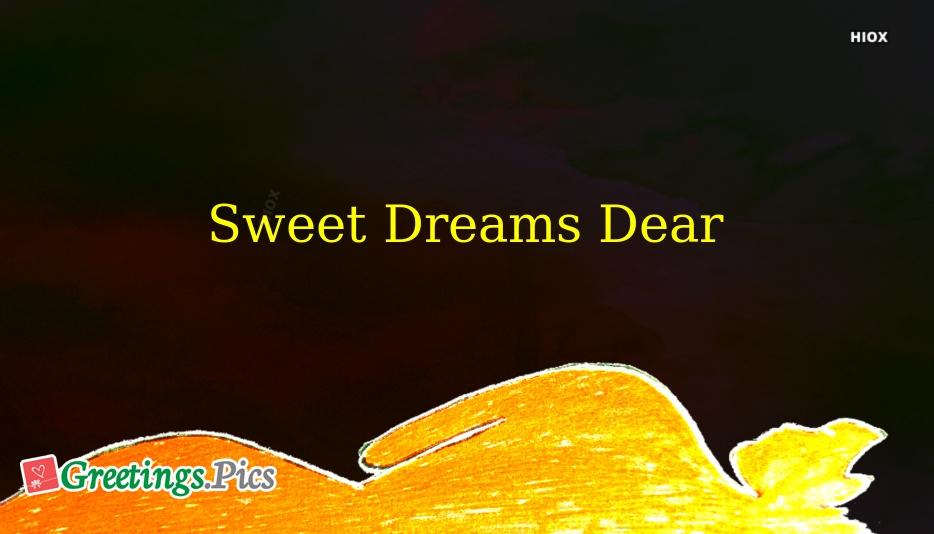 Sweet Dreams Dear