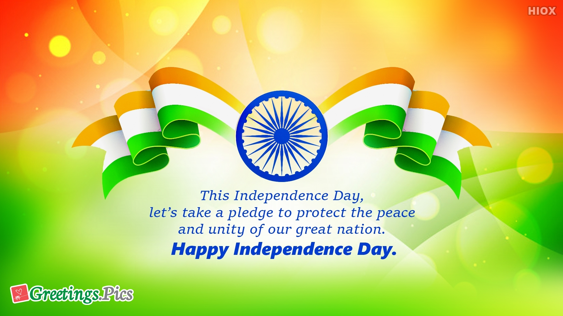 Let's Take A Pledge. Happy Independence Day.