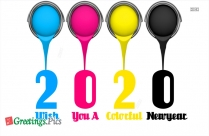 2020 Wish You A Colorful New Year