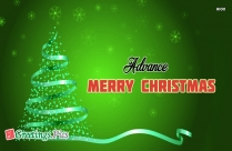 Advance Merry Christmas Images Download