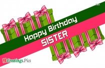 Birthday Greetings To Cousin Sister