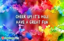 Happy Holi Have Fun Wallpaper