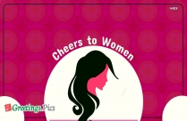 Cheers To Women