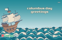 Columbus Day Greetings