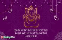 Ganesh Chaturthi Festival Sketch