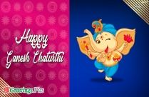 Happy Ganesh Chaturthi Greeting Picture