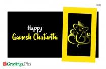 Ganesh Chaturthi Poster