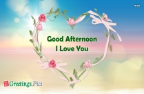 Good Afternoon My Friend God Bless Your Day