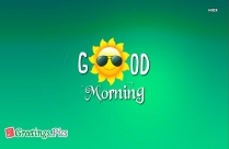 Good Morning Friends
