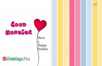 My Love Happy Sunday