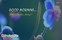 Good Morning Have A Marvelous Monday