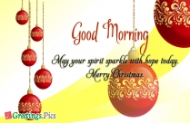 Good Morning Merry Christmas Quotes