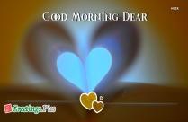 Good Morning Heart Image