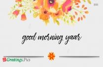 Happy Good Morning Greetings