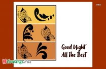 Good Night And All The Best