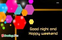 Good Night Image With Stars