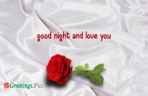 Good Night And Love You