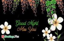 Good Night And Miss U Wallpaper