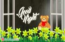 Good Night With Image