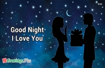 Love U Good Night Wallpaper