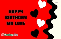 Greetings For Lover Birthday