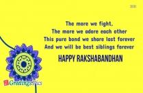 Happy Rakhi Wallpaper