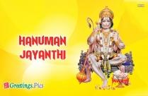Hanuman Jayanthi 2018
