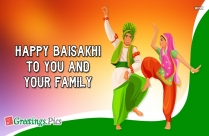 Happy Baisakhi To You And Your Family