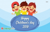 Happy Childrens Day Card