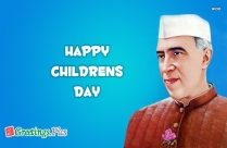 Happy Childrens Day Nehru