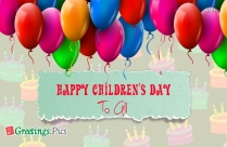 Happy Childrens Day To All