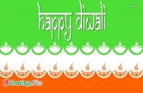Happy Diwali English Greetings