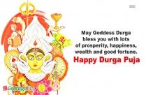 Durga Puja Message In English