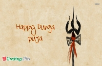 Durga Puja Greeting Cards Wishes