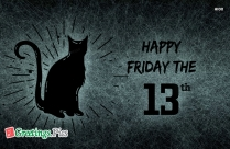 Happy Friday The 13th Day