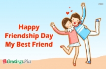 Happy Friendship Day My Son