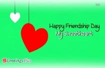 Happy Friendship Day My Best Friend